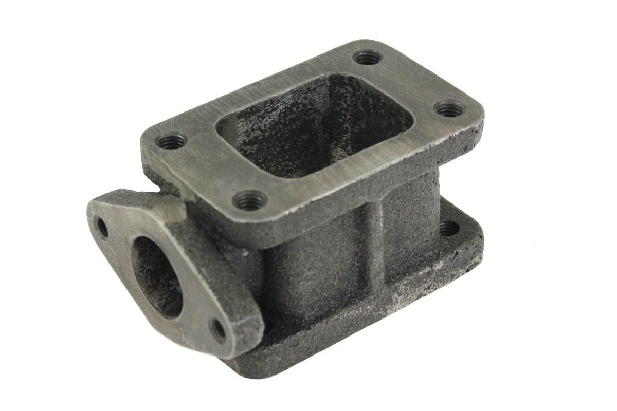 Flansza redukcja turbo T3-T3 wastegate 38mm - GRUBYGARAGE - Sklep Tuningowy